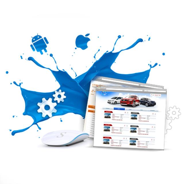 Дизайн сайта для создания